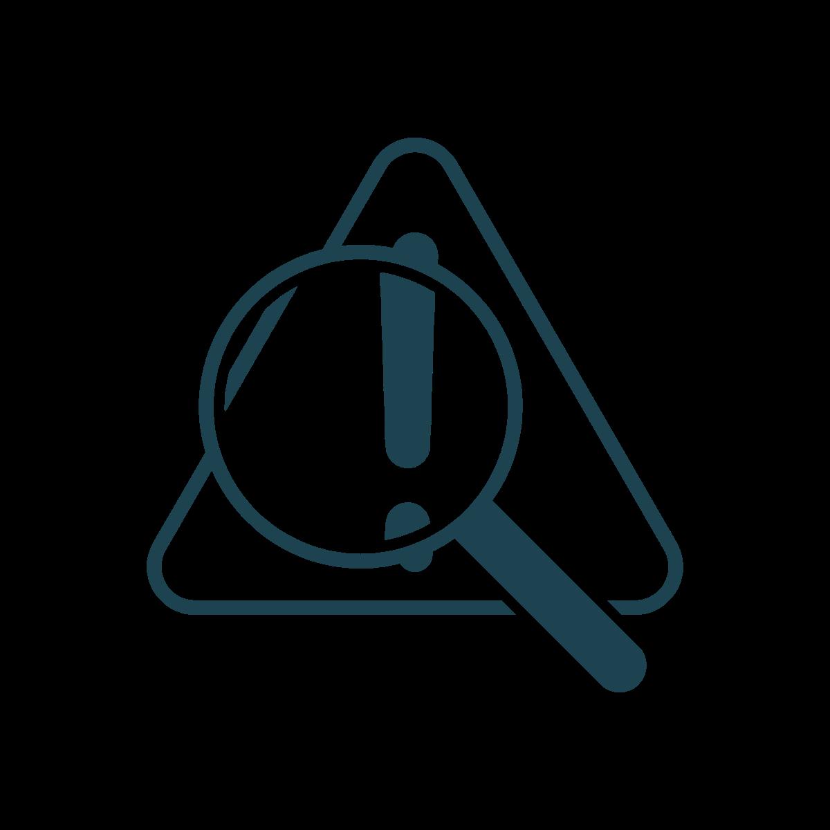 identify problem icon