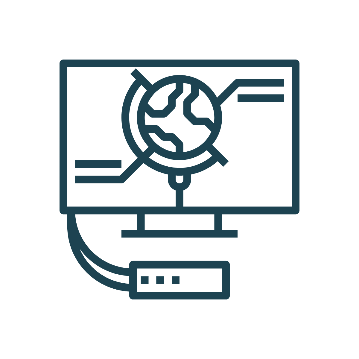 network simulation icon
