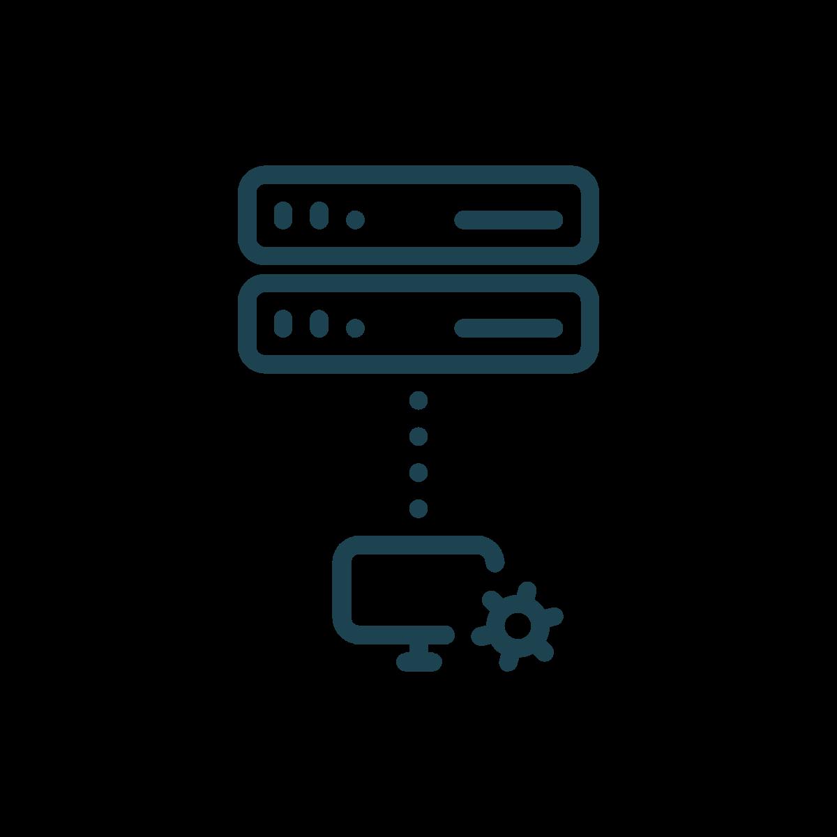 remote monitoring icon