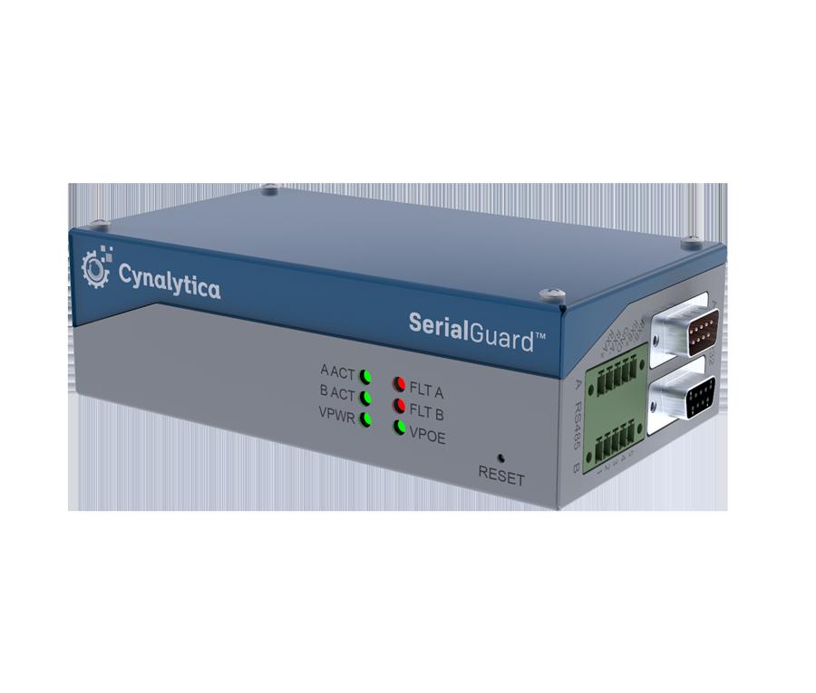 SerialGuard hardware sensor for tapping serial communications